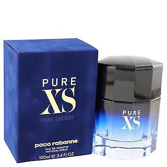 Pure Xs Eau De Toilette Spray By Paco Rabanne 3.4 oz Eau De Toilette Spray