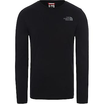 T-shirt da uomo universale North Face Easy T92TX1K-2 tutto l'anno