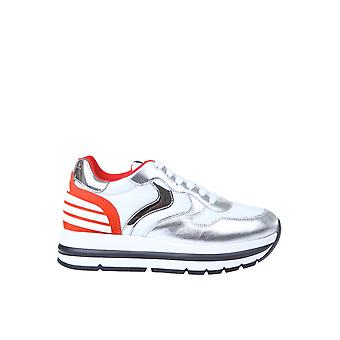 Voile Blanche 1q23001201475103 Women's Silver Leather Sneakers