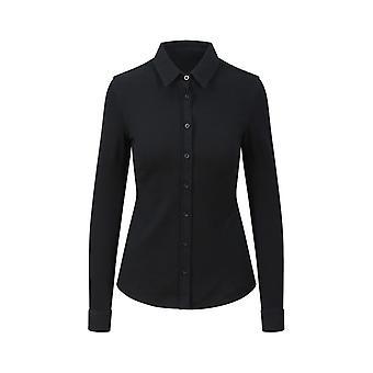 AWDis So Denim Womens/Ladies Anna Knitted Long Sleeve Shirt