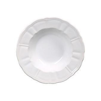 Piatti Kaweria Colore Bianco in Stoneware, L22xP22 cm