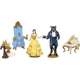 ディズニープリンセスベル美女と野獣フィギュアセット人形5個
