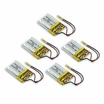 5 Pièces Batterie Lipo Rechargeble (3.7v 150MAH) pour S107G