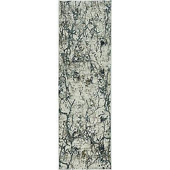 5'x8' Ivory Mist Machine Woven Abstract Splatter Indoor Area Rug