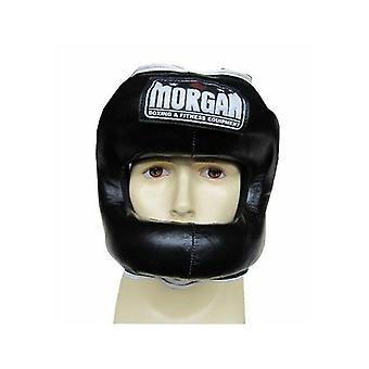 Morgan Small Nose Protector Leather Sparring Head Guard