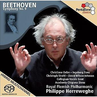 L.V. Beethoven - Beethoven: Symphony No. 9 Choral [2009 Recording] [SACD] USA import