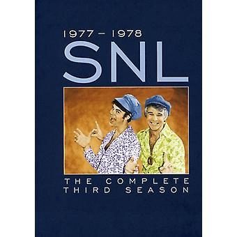 Saturday Night Live - Saturday Night Live: komplet tredje sæson [7 diske] [Limited Edition] [DVD] USA import