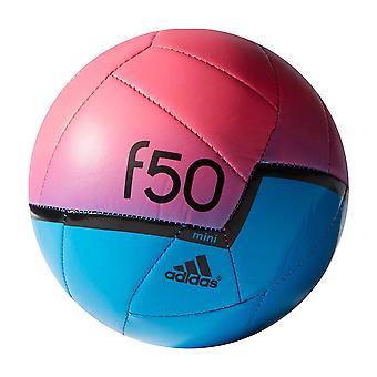 adidas F50 X-ITE Mini Football Soccer Ball Blue/Pink