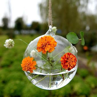 クリエイティブハンギングガラス壁花瓶
