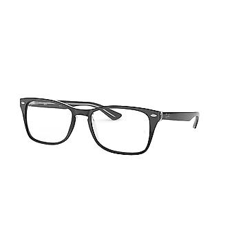 Ray-Ban RB5228M 2034 Transparent On Top Black