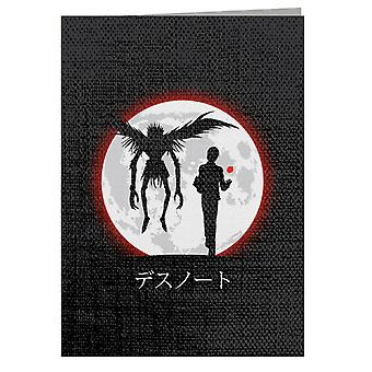 Death Note I Will Reign Over A New World Greeting Card