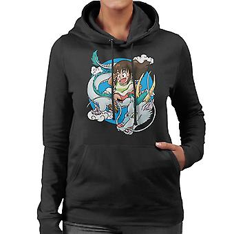 Dragon Haku Spirited Away Women's Huppari