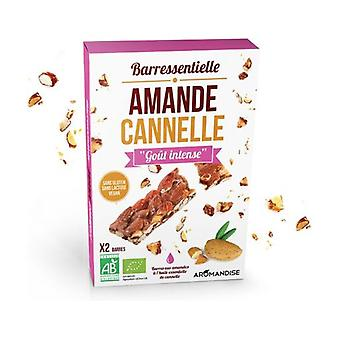 Cinnamon almond bar 2 units