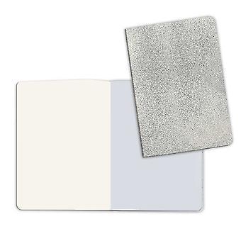 طابعة دفتر A5 مع الحجر ورقة الغطاء الفضي