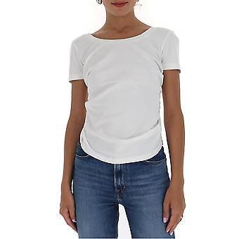 Jacquemus 203js05203216010 Women's White Cotton T-shirt
