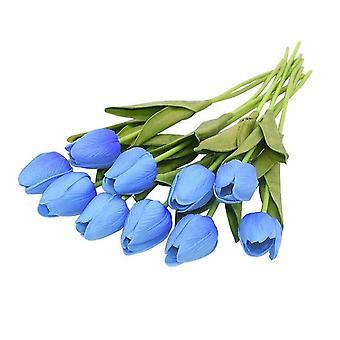 Artificial Tulip Artificial Flower Bouquet For Wedding Home Garden Decor