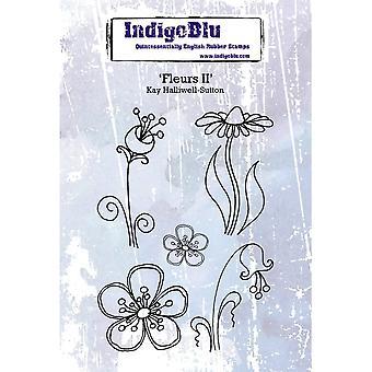 IndigoBlu Fleurs II A6
