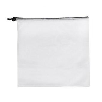 Fruit Polyester Mesh Bags Reusable Produce Bags Medium white