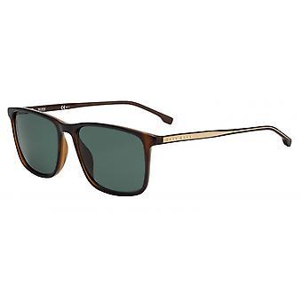 Okulary przeciwsłoneczne Mężczyźni 1046/S086/QT Męskie brązowe/zielone