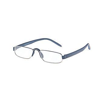 Reading Glasses Unisex Le-0163C Notary Blue Strength +3.00