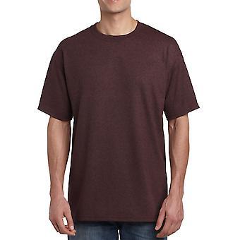 Gildan G5000 Plain Heavy Cotton T Shirt in Russet