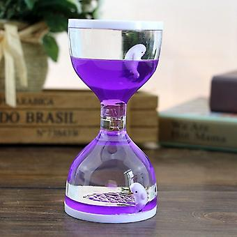 Dolphin Liquid Motion Bubbler Timers, Oil Hourglass Sensory Relaxation Speelgoed