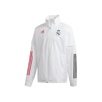 Adidas Real Madrid Allweather FQ7847 football all year men jackets