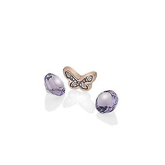 Anais Hot Diamonds Anais Rose placat cu aur Butterfly Charm AC113