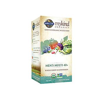Garden of Life mykind Organics Mens 40 Plus Multi, 60 Tabs