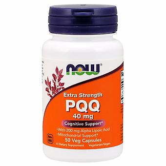 Now Foods PQQ Extra Strength, 40 mg, 50 Veg Caps
