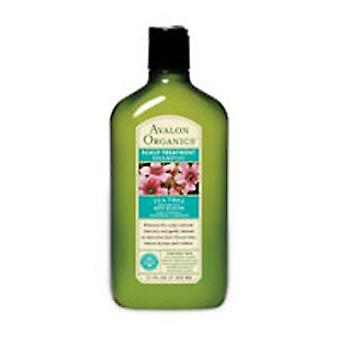 Avalon Organics Conditioner Tea Tree Scalp Treatment, 11 fl oz