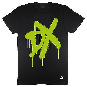 WWE DX スプレー ロゴ メンズ&アポス T シャツ |オフィシャル・グッズ