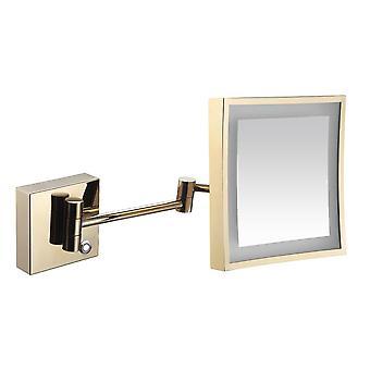 3x LED valaistu seinä asennettu peili johdotus