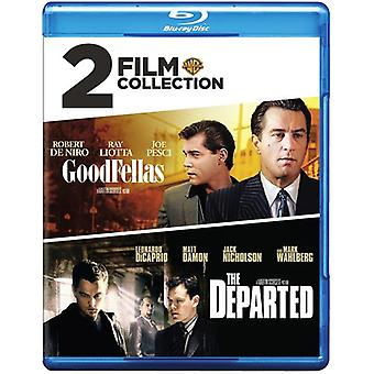 Goodfellas / Departed [Blu-ray] USA import