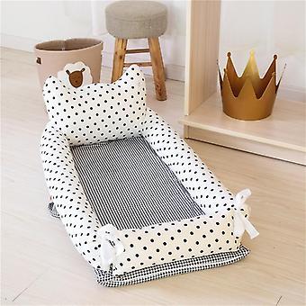 Nido de bebé recién nacido, cesta de dormir crib bassinet extraíble