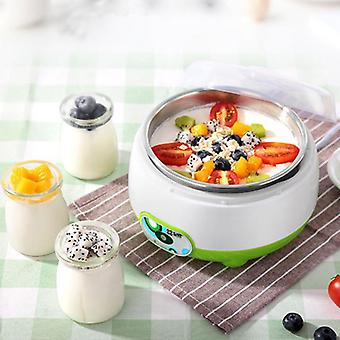 Automatic Electric Yogurt Maker Machine, Containers, Glass, Jars Diy Appliance