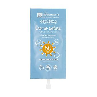 High protection sun cream SPF50 - travel size 25 ml of cream