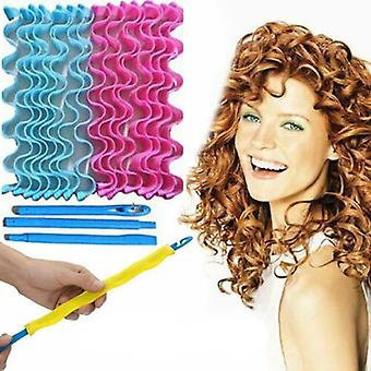 Water Wave, Magic Curlers Formers Leverage -spiral Hairdressing Tool