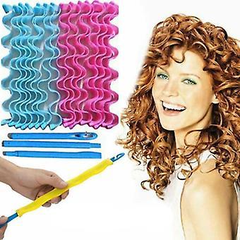 Vatten våg, Magic Curlers Tidigares Hävstångseffekt -spiral frisörverktyg