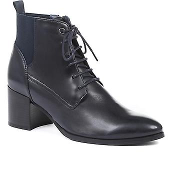 Jones Bootmaker Womens Grove Leather Heeled Ankle Boots