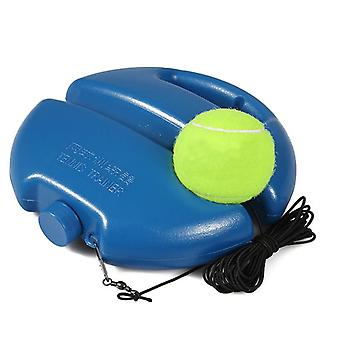 Single Tennis Training Device with Ball Self-learning Rebound Device Sparring Device