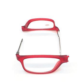 Justerbare hengende nakkebriller og permanente magnetiske bærbare lesebriller