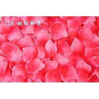 Keinotekoiset kukat Simulaatio Ruusun terälehtiä