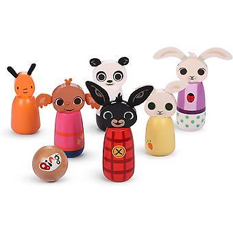Bing Wooden Character Skittles Set