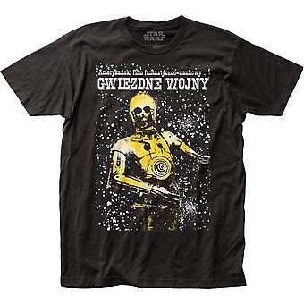 Star Wars C-3PO Polish Poster T-Shirt