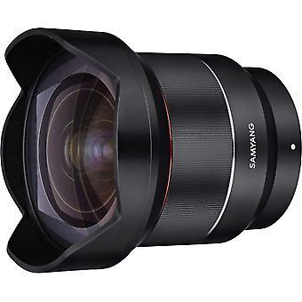 Samyang af 14 mm f2.8 autofocus lens for sony fe - black 8010 without lens station 14mm f2.8
