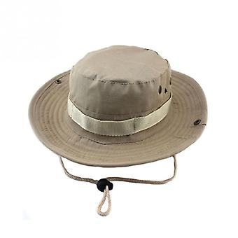 Tactical Boonie Hat With Shrinkage Adjustment Rope
