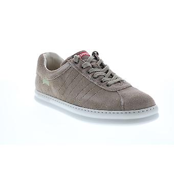 Camper Runner Four Mens Gray Suede Euro Sneakers Chaussures