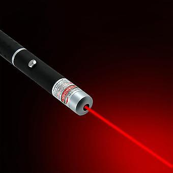 Penna laser verde da 5 mw 650nm, forte raggio di luce visibile Laserpoint 3 colori