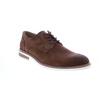 Unlisted by Kenneth Cole Adult Mens Jimmie Lace Up Pt Plain Toe Oxfords & Lace Ups